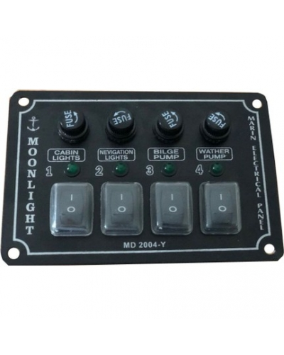 4'LÜ SWITCH PANEL YATAY
