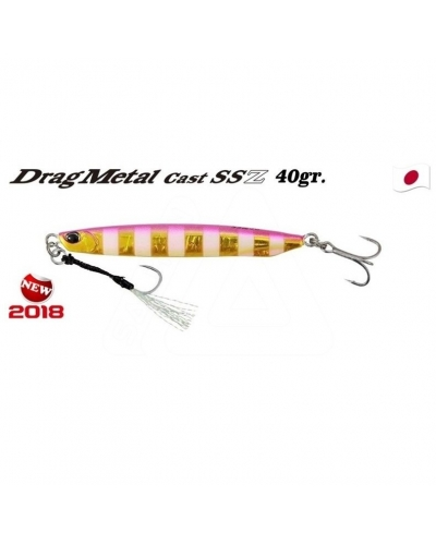 DUO DRAG METAL SHORE CAST SSZ 40 GR 88 MM JİG PJA0045 PINK GOLD