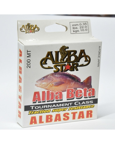 ALBA STAR ALBA BETA NAYLON MİSİNA 0,26 MM 5,60 KG 100 M
