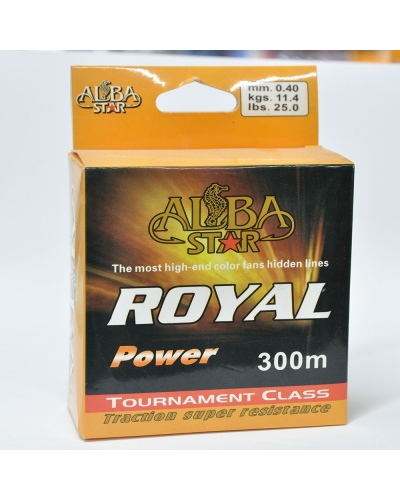 ALBA STAR ROYAL POWER NAYLON MİSİNA 0,40 MM 11,4 KG 300 M
