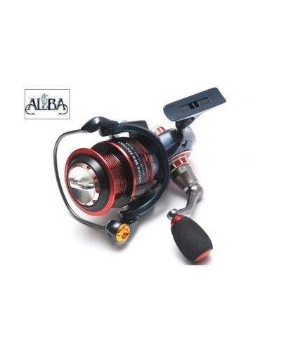 ALBA STAR VOGUE RED EDITION 5.3:1 DEVİRLİ 13+1 BİLYELİ SPIN OLTA MAKİNESİ