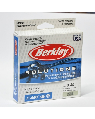 BERKLEY CAST NAYLON MİSİNA 0,33 MM 6,992 KG 150 M