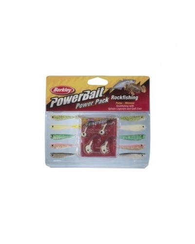 BERKLEY POWER BAIT POWER PACK BPPRK-ASST 5,5 CM 1,8 GR & 3,5 GR SİLİKON BALIK SETİ