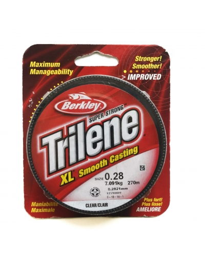 BERKLEY TRILENE XL NAYLON MİSİNA 0,28 MM 7,091 KG 270 M