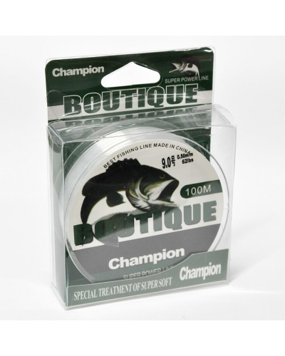 BOUTIQUE CHAMPİON NAYLON MİSİNA 0,47 MM 18 KG 100 M