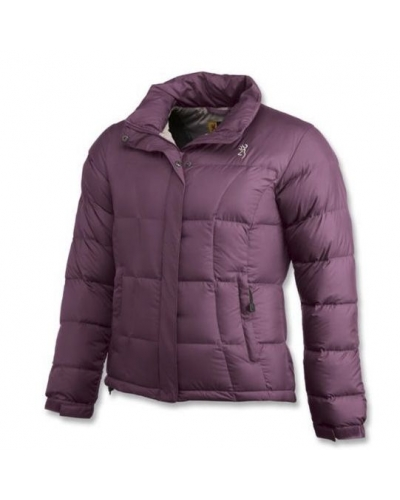 BROWNING JKT LADY DOWN 650 PLUW BORDO MONT S