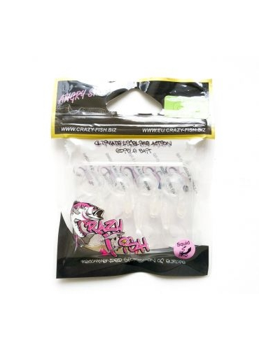 CRAZY FISH ANGRY SPIN 1 ' 25 MM SİLİKON YEM COLOR:49