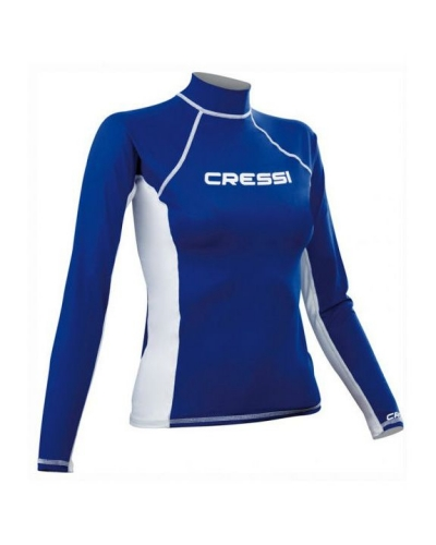 CRESSI RASH GUARD LONG SLEEVE LADY MAVİ T-SHIRT XS / 1