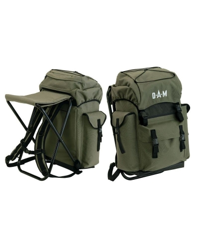 DAM BACKPACK ŞEZLONG HAKİ ÇANTA
