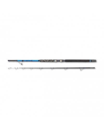DAM STEEL POWER BLUE SALTWATER LIGHT BOAT 180 BOT KAMIŞI MAVİ-SİYAH 1,80 M 30 LB 99 CM