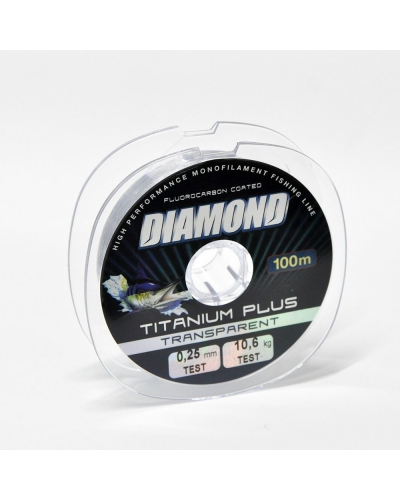DIAMOND TITANIUM PLUS FLUOROCARBON COATED MİSİNA 0,23 MM 9,8 KG 150 M