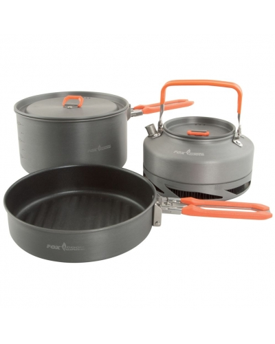 FOX 3PC MEDIUM  COOKSET BAG