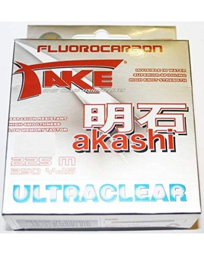 LINEAEFFE AKASHI ULTRACLEAR FLUOROCARBON MİSİNA 0,16 MM 4,50 KG 225 MT