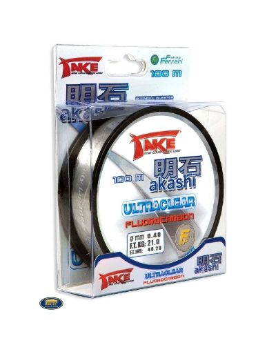 LINEAEFFE AKASHI ULTRACLEAR FLUOROCARBON MİSİNA 0,20 MM 8 KG 225 MT