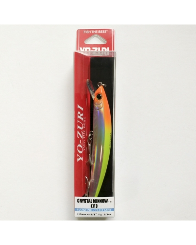 YOZURI CRYSTAL MINNOW  110 MM 11 GR FLOATING SAHTE BALIK F7-C5